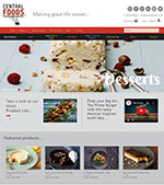 Central Foods Website